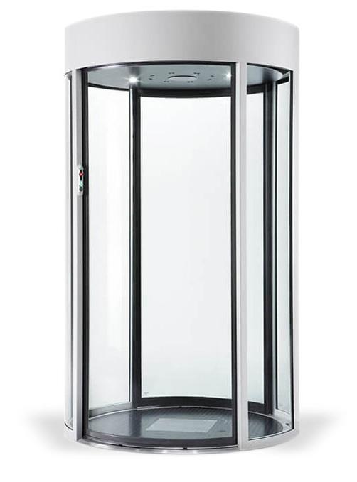A C1, C1D, C2, C3, C4, C5, C190 hengeres biztonsági kapu hatalmas üvegfelületével, széles bejáratával együtt kényelmet és eleganciát biztosít.